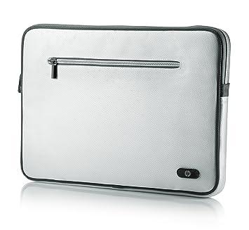HP 15.6 Standard Sleeve - Funda para ordenador portátil, blanco: Amazon.es: Informática