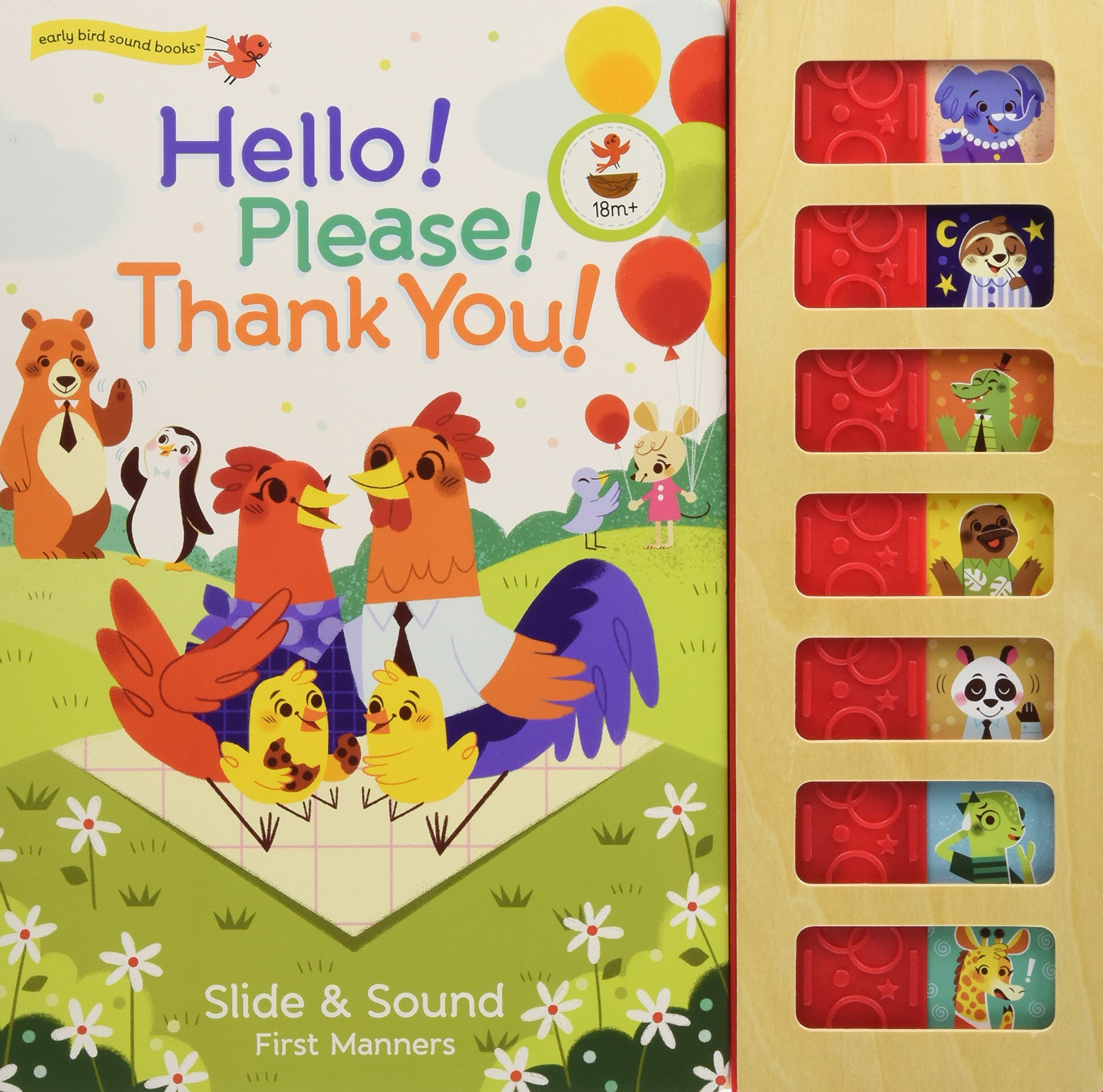 Hello, Please, Thank You: A First Manners Book (Slide and Sound
