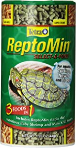 TetraFauna ReptoMin Select-A-Food for Aquatic Turtles, Newts & Frogs