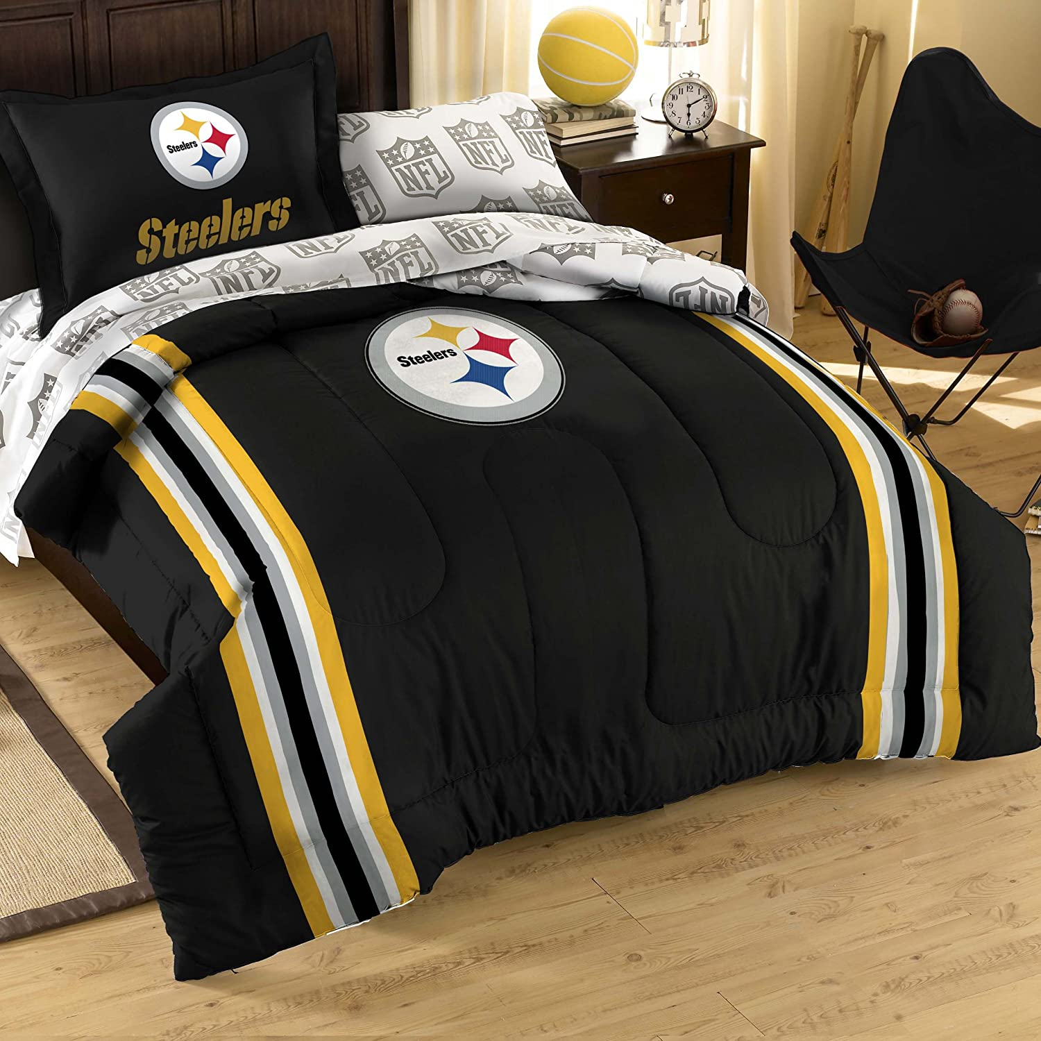 Nfl bedding for boys - Nfl Twin Size Bedding Set