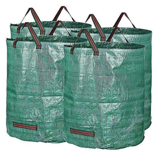 Bolsas para Desechos De Jardín, Bolsa De Basura 500L, Extra ...