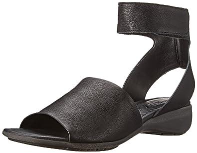The Flexx Women's Beglad Dress Sandal, BLACK GUANTO, ...