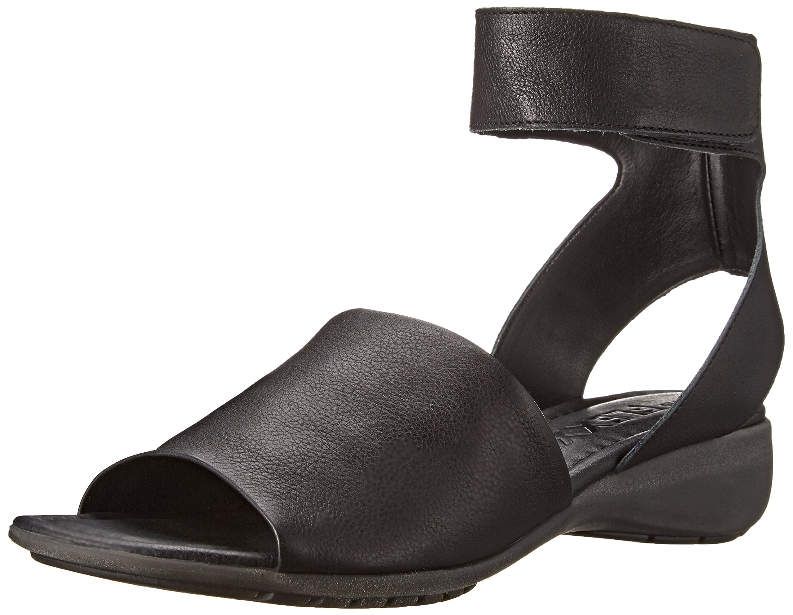 The Flexx Women's Beglad Dress Sandal, BLACK GUANTO, 7.5 M US