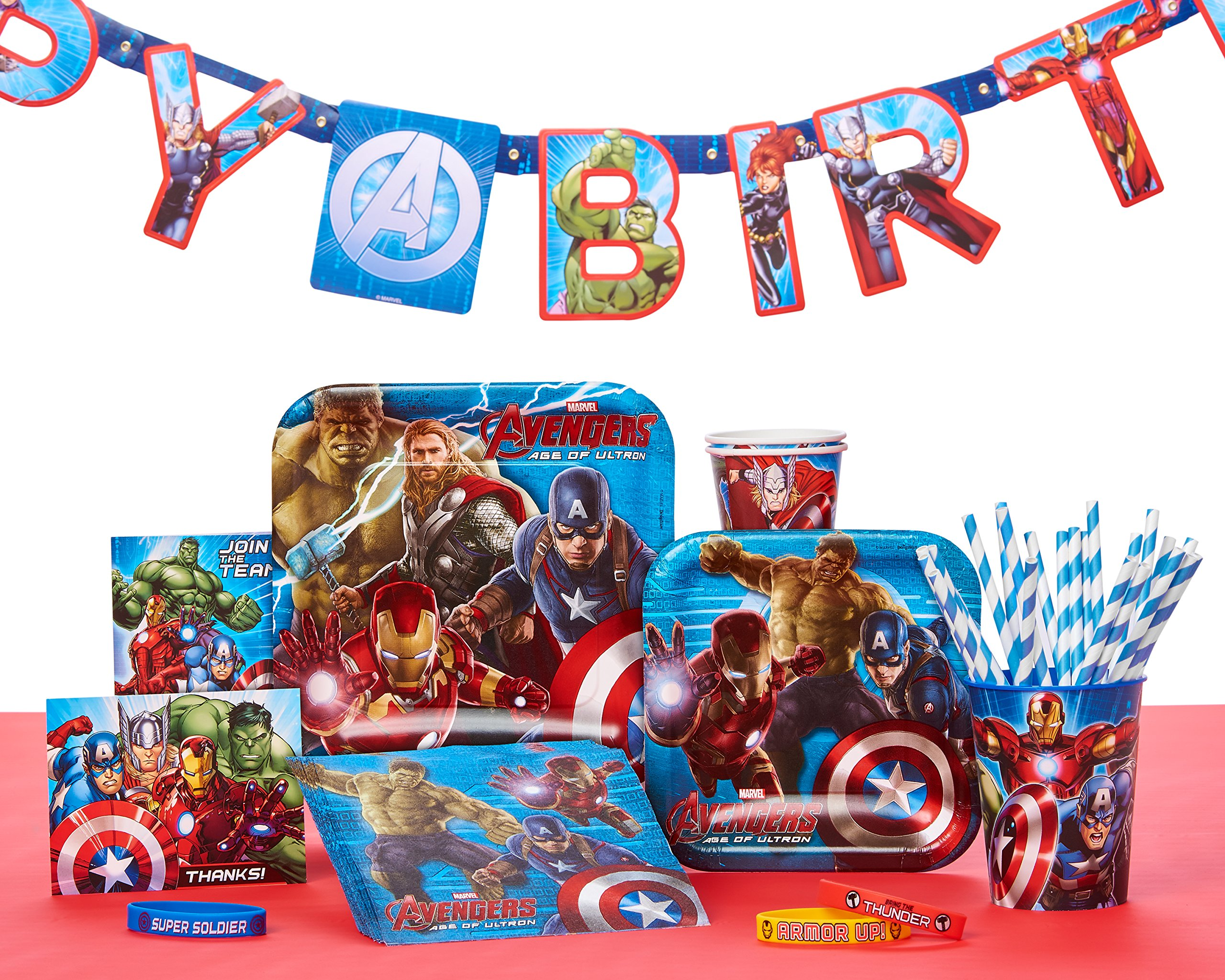 Marvel Avengers Invite and Thank You Combo, 8 Pack, Party Supplies by American Greetings (Image #3)
