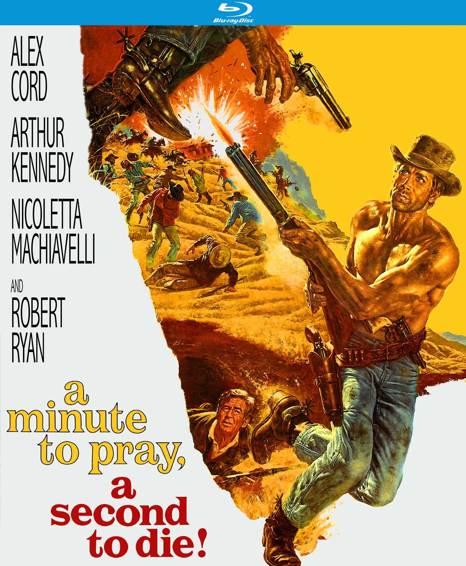Blu-ray : A Minute To Pray, A Second To Die (Blu-ray)