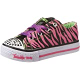 Skechers Girls Shuffles - Wild Streak Low-Top