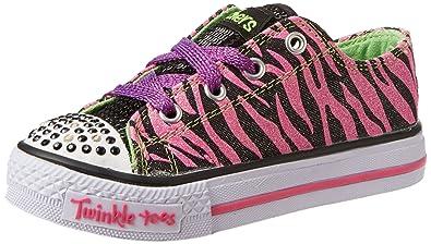 Skechers Kids 10283L Shuffles Wild Streak Lightup Sneaker