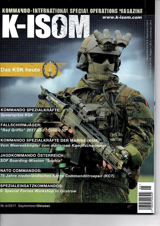K-ISOM 3//2016 Special Operations Spezialkräfte Magazin Kommando Bundeswehr Waffe