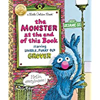 The Monster at the End of the Book (Little Golden Book)