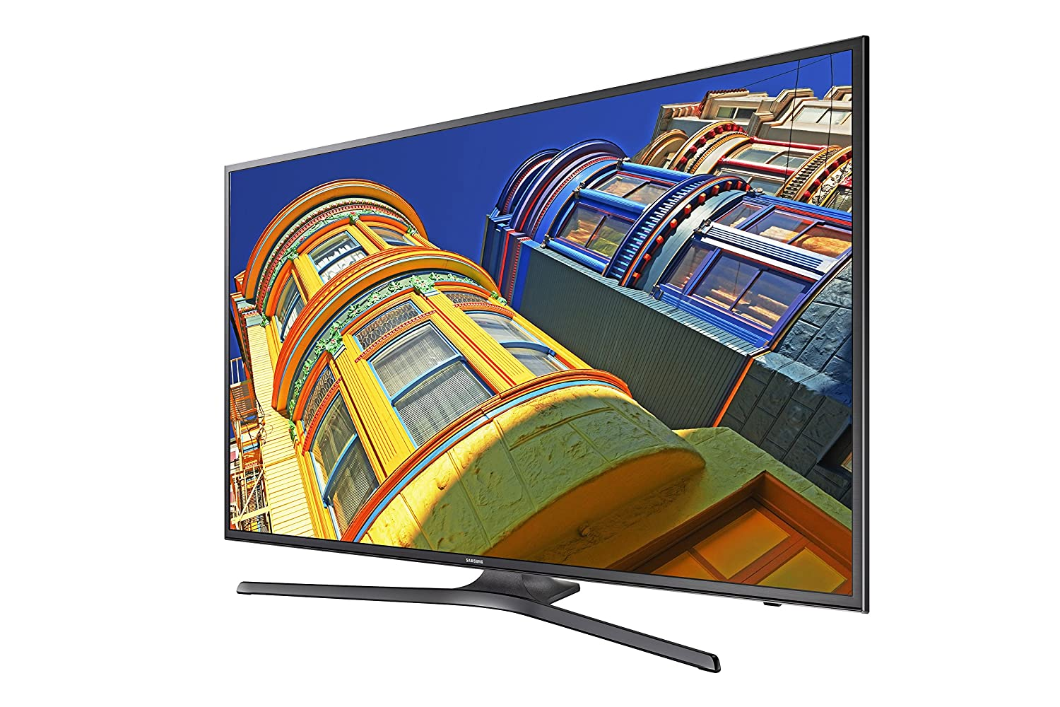 Amazon.com: Samsung UN55KU6290 55-Inch 4K Ultra HD Smart LED TV (2016  Model): Electronics
