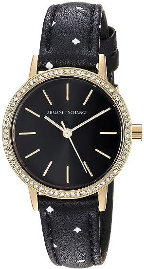 Reloj armani exchange mujer negro