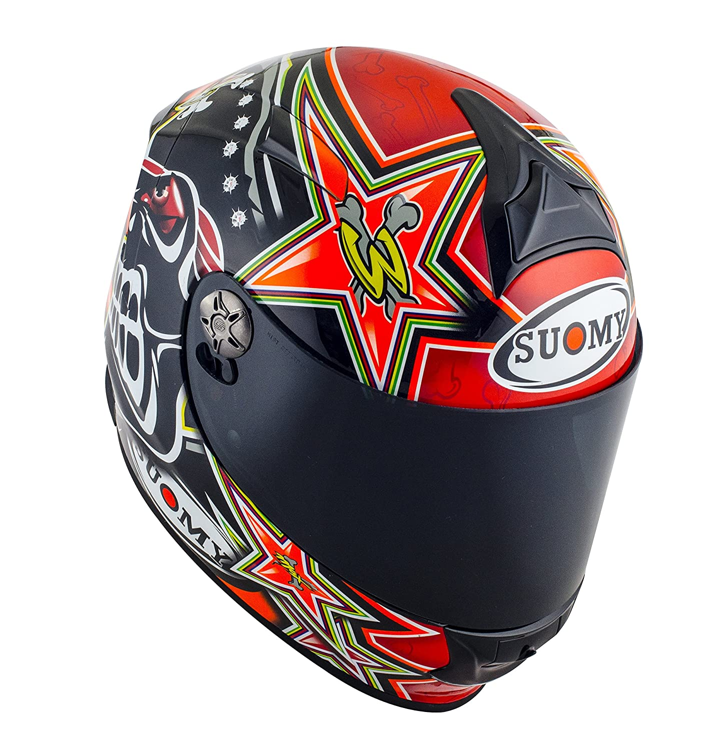 Amazon.es: SUOMY SR Sport - Casco para Moto Integral, Multicolor (Biaggi Replica 2015 Red), L