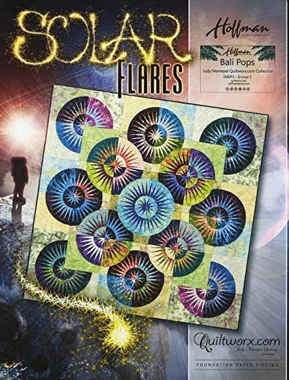 Solar Flares Quilting Pattern by Judy Niemeyer Quilting Quiltworx.com