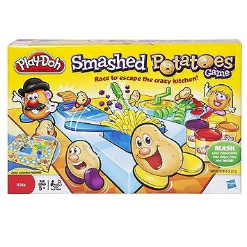 Amazon.com: Play-Doh Smashed patatas Juego de mesa: Toys & Games