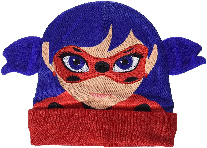 Cerdá Lady Bug, Set Sciarpa, Guanti e Cappello Bambino, Marrone (Azul 001), Unica (Taglia Produttore: única) 2200002499