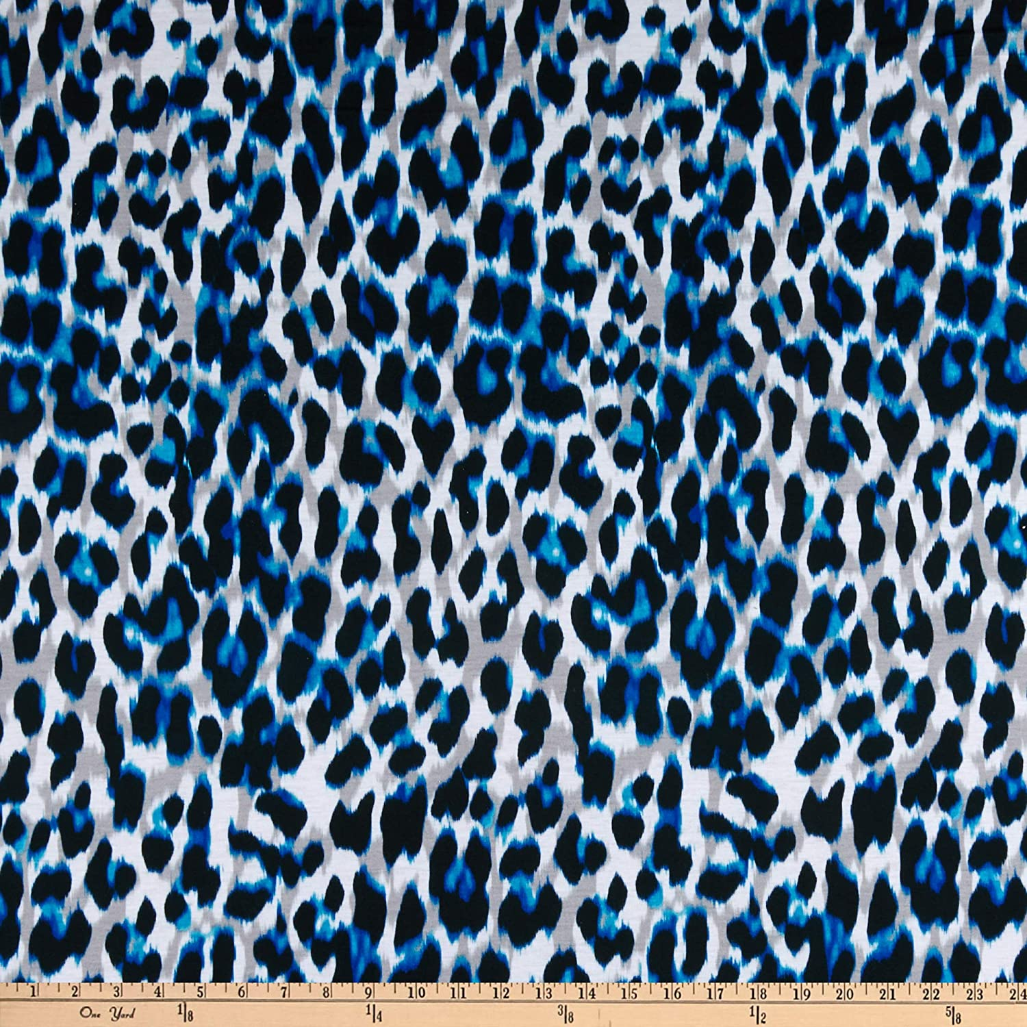Butterfly Print Fabric Soft Jersey Spun Polyester Fabric-FREE SAME DAY DISPATCH