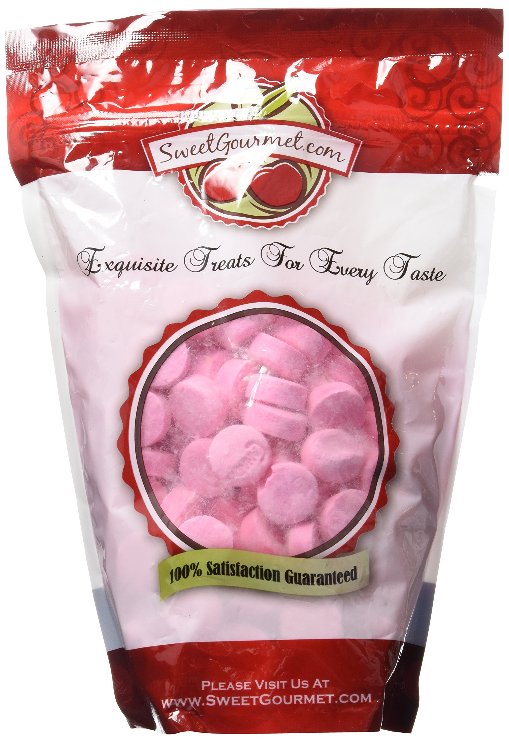 Pink Wintergreen Lozenges old-fashioned classic mint candy (1.5Lb)