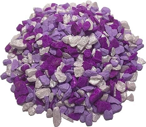 Ni_Orn Piedras de jardín de color natural para niños, charola ...