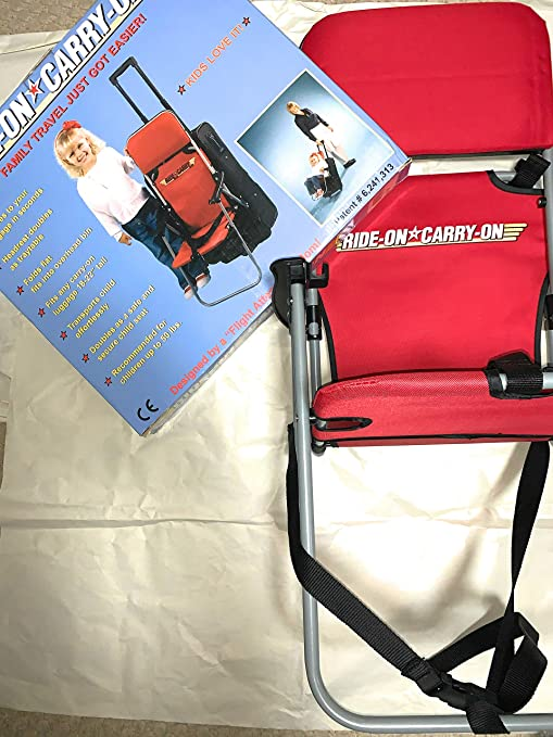 Amazon.com: Ride On Carry On Asiento Infantil de Viaje ...