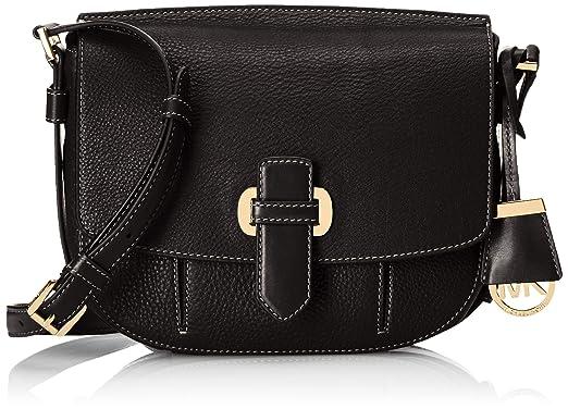 MICHAEL Michael Kors Women\u0027s Romey Messenger Bag, Black, One Size