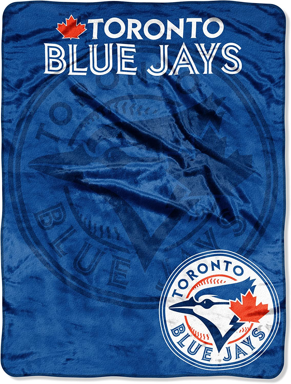 Washable Soft /& Cozy 46 x 60 Officially Licensed MLB Triple Play Mirco Raschel Throw Blanket