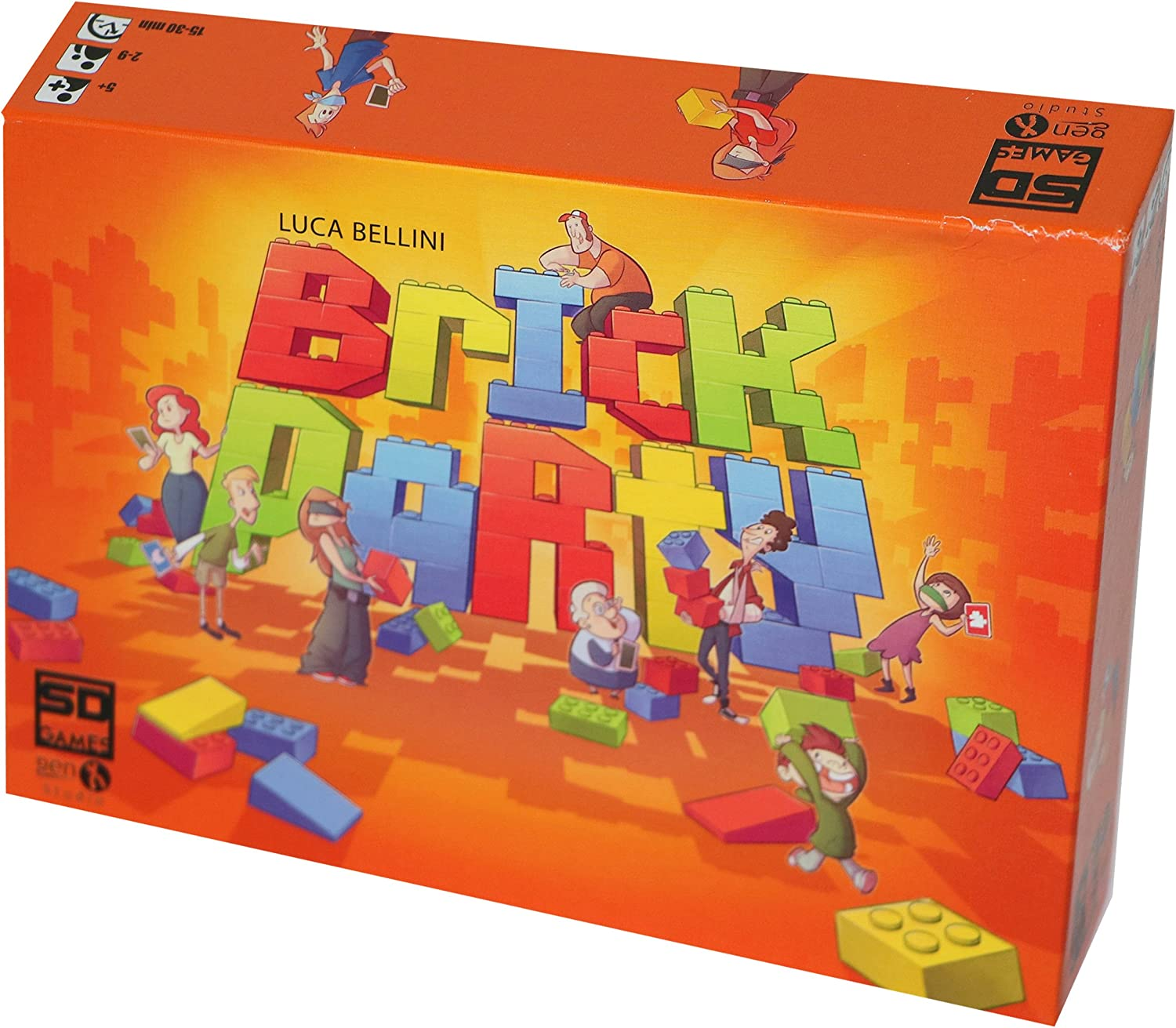 SD Games - Brick Party, Juego de Mesa (SDGBRICPA01): Amazon.es ...