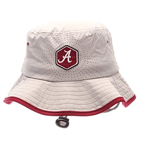 704f779af01 Image Unavailable. Image not available for. Color  ZHATS NCAA Alabama  Crimson Tide Adult Men Radiant Bucket Hat