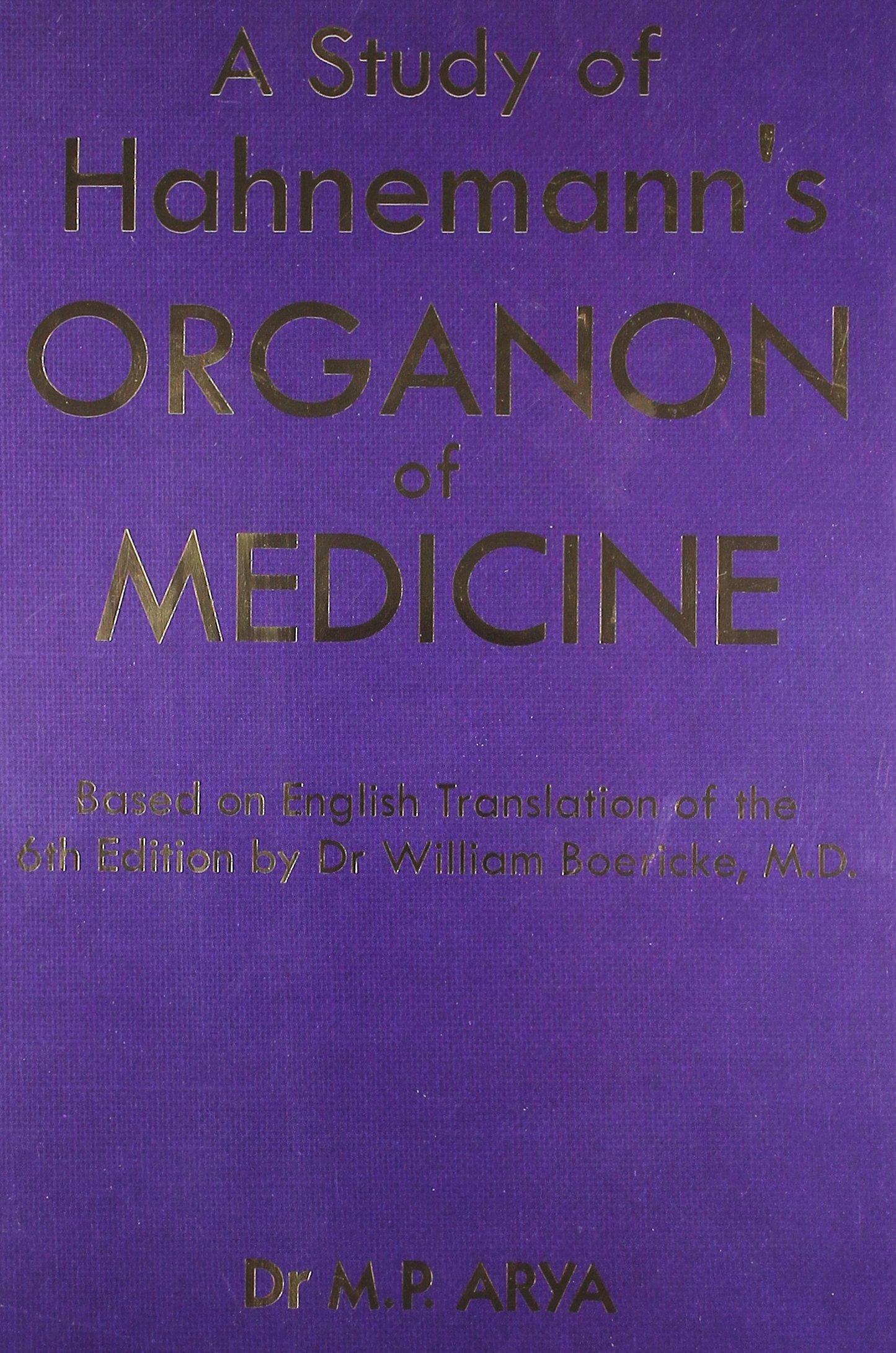 Download Study of Hanemanns Organon of Medicine pdf epub