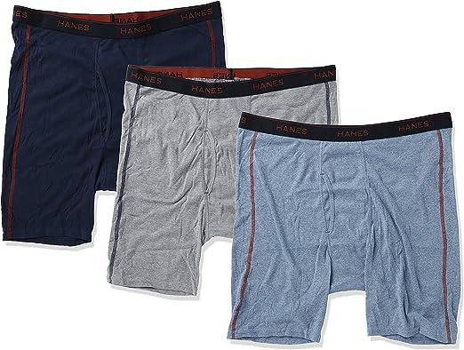 Hanes Men's Sports CoolDri Control Inspired Long Leg Boxer Brief