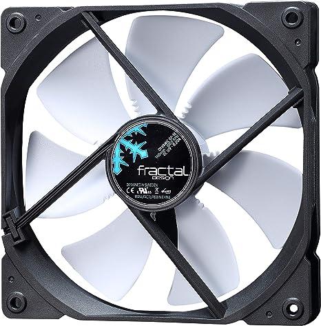 Amazon Com Fractal Design Dynamic Gp 14 White Case Fan Fd Fan Dyn Gp14 Wt Computers Accessories