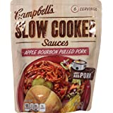 Campbell's Slow Cooker Sauces, Apple Bourbon Pulled Pork, 13 Ounce (Pack of 6)