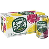 Poland Spring Sparkling Water, Pomegranate Lemonade, 12 Fl Oz (Pack of 8)