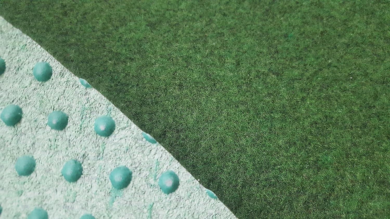 Stadion Rasen Teppich Kunstrasen 34 mm 200x400 cm grün