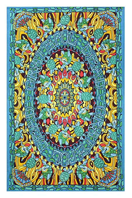Amazon.com: Sunshine Joy Grateful Dead Terrapin Dance Tapestry ...