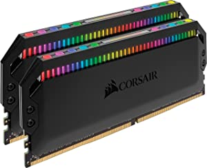 Corsair Dominator Platinum RGB 16GB (2x8GB) DDR4 4266 (PC4-34100) C19 1.4V Desktop Memory