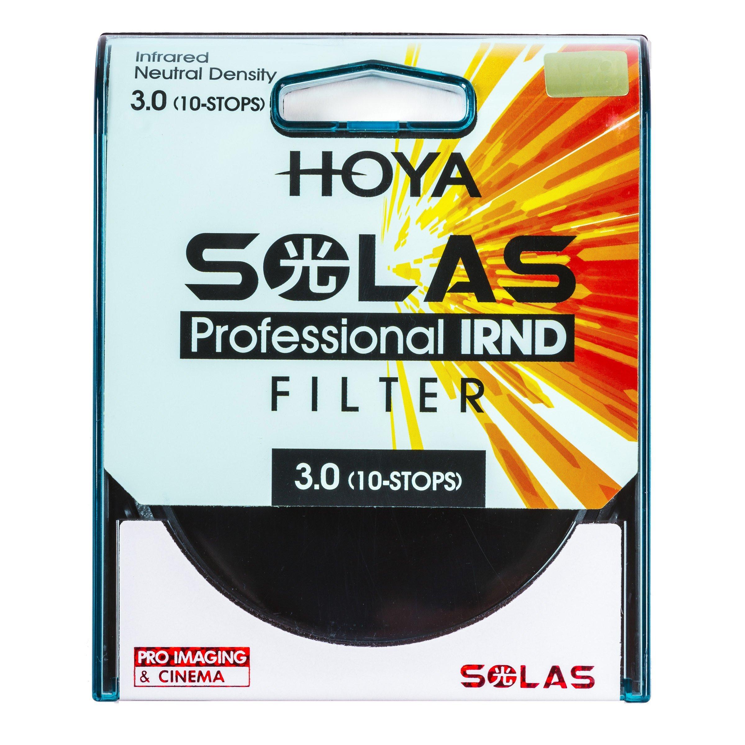 Hoya 82mm Solas IRND 3.0 (10-Stops) Infrared Neutral Density Filter