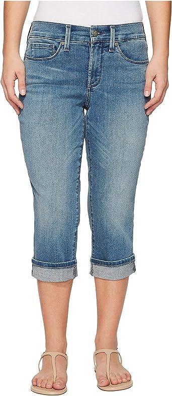 Details about  /NYDJ Women/'s Petite Size Marilyn Crop Cuff Jean Choose SZ//color