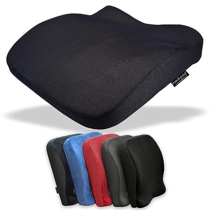 4 opinioni per Medipaq® Cuscino Memory Foam Contornato 2 in 1 Sedile e Schienale ✮ Riduce il