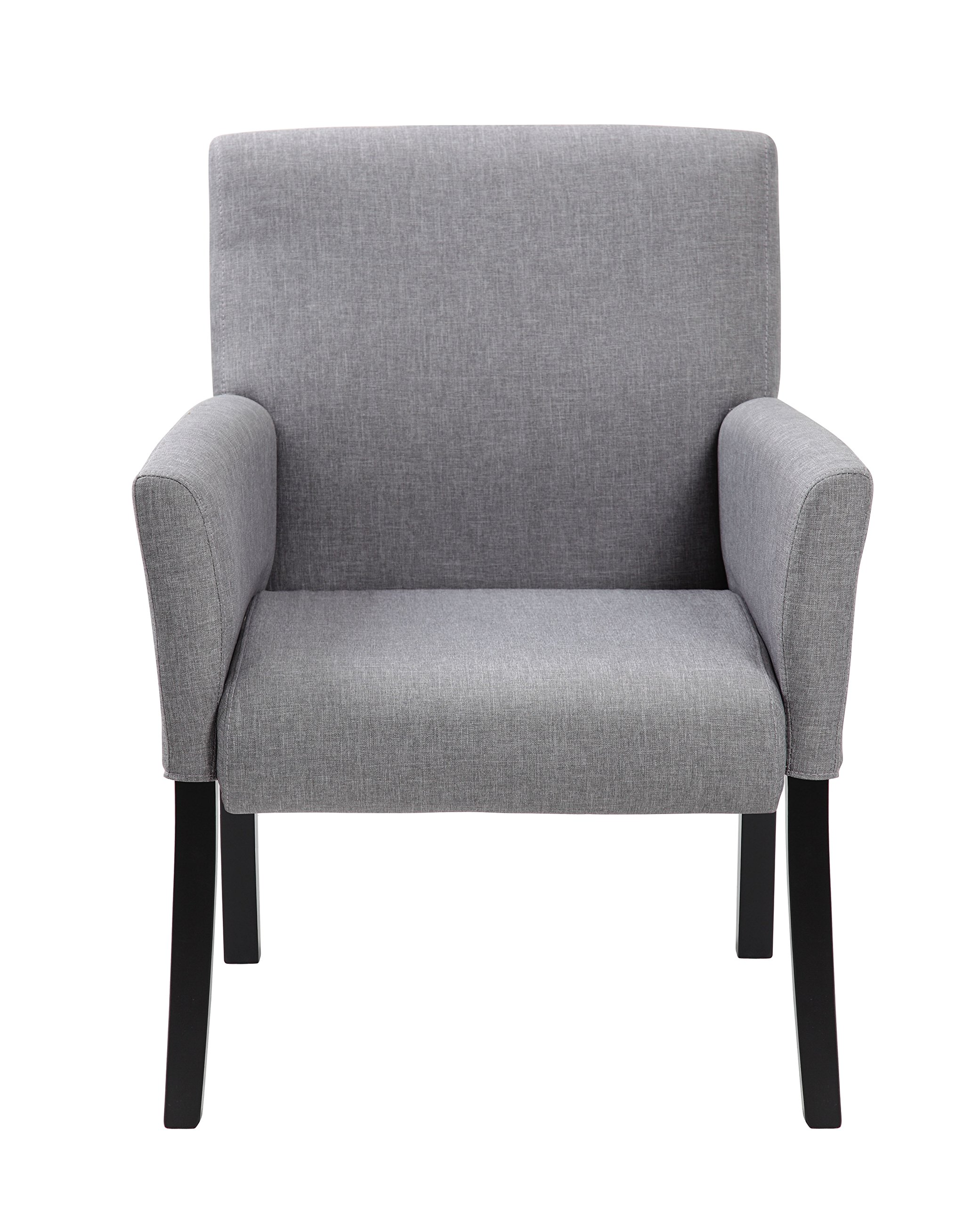 Boss Office Products B659-MG Contemporary Guest Chair in Grey by Boss Office Products (Image #2)