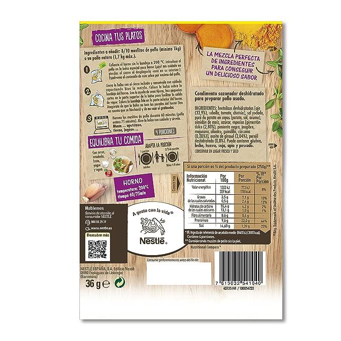 Maggi Jugoso al Horno Ajillo al Toque de Perejil - 1 Bolsa para Horno con Condimentos de Ajillo al toque de Perejil - 36g: Amazon.es: Amazon Pantry