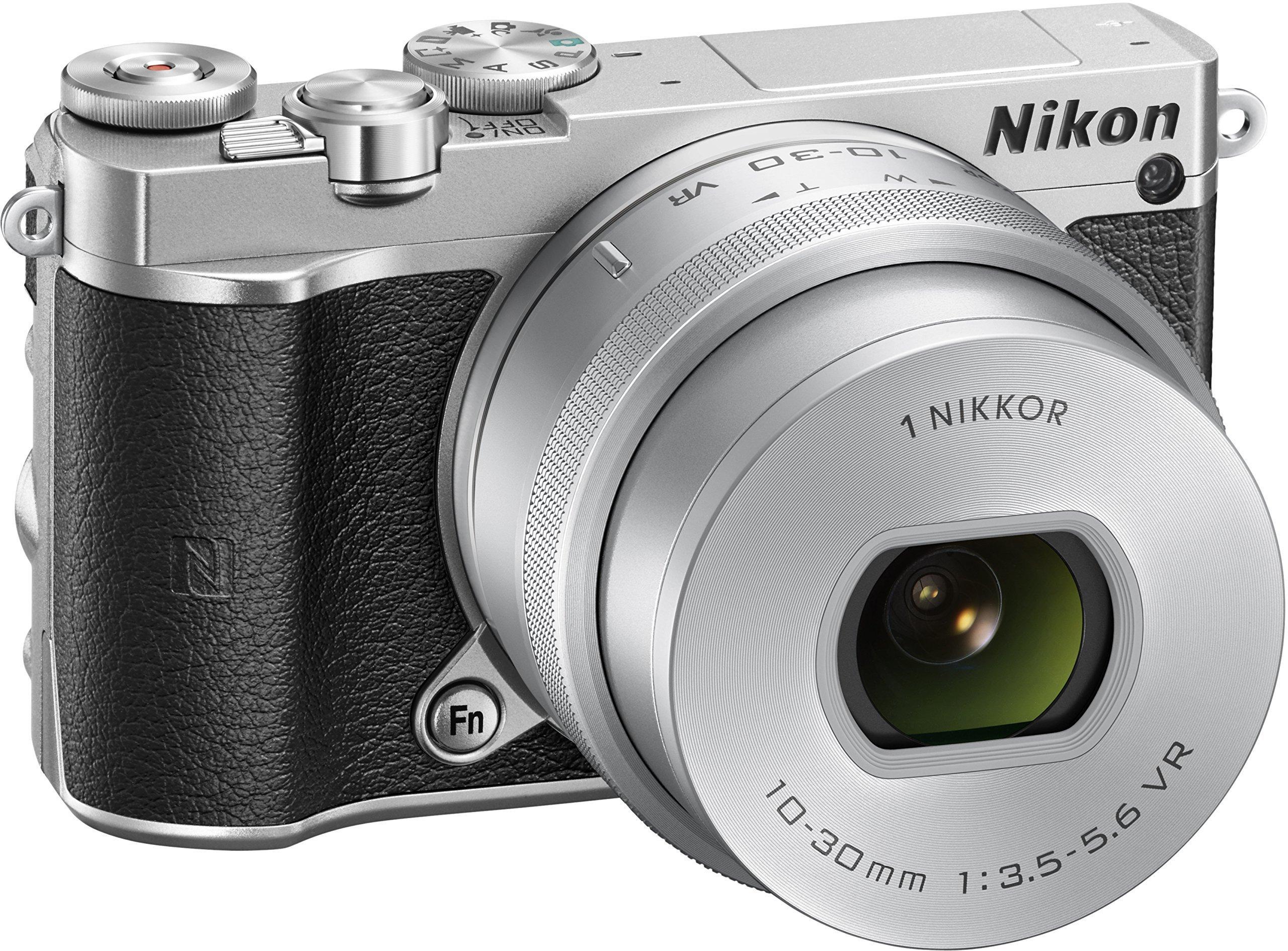 Nikon 1 J5 Kit silber + 10-30 PD-Zoom - International Version by Nikon