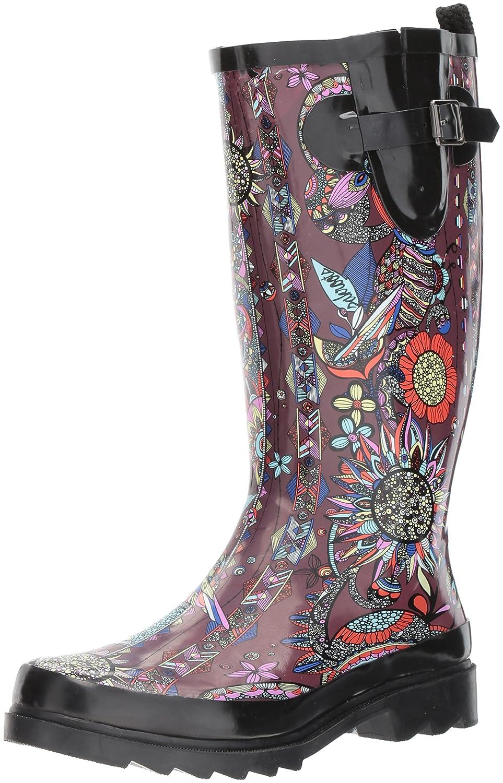 The Sak Women's Rhythm Rain Boot B072Q3G3CJ 10 B(M) US|Cabernet Spirit Desert