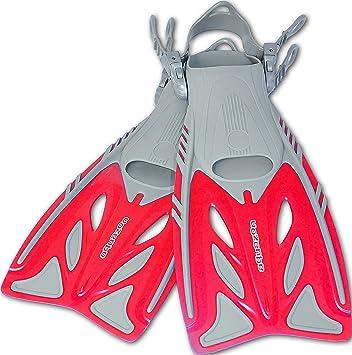 Flossen ABC & Blei Erwachsene Kinder Schwimmflossen verstellbar Schnorchelflossen