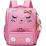 Girls Backpacks, Waterproof Cute Backpack for Kids Toddler Girl Preschool Bookbags Elementary School Bags