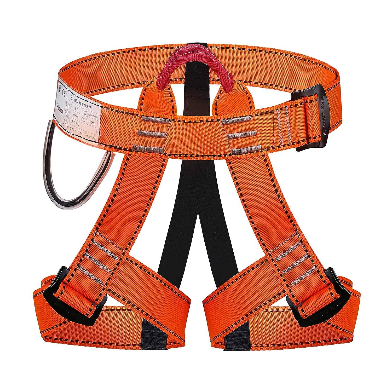 ENJOHOS Babimax Baudrier Arrampicata Imbracatura Cintura di Sicurezza per Donna Uomo Arrampicata Alpinismo Mountain Rappelling