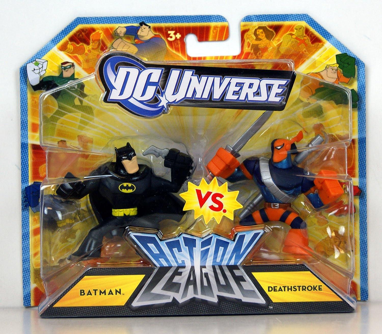 DC Universe Action League Batman vs Deathstroke Figure 2-Pack ...