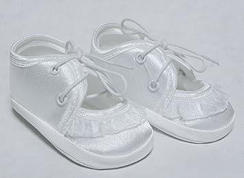 Taufschuhe Taufe Babyschuhe Sandalen Weiß Gr10 13 Om 008