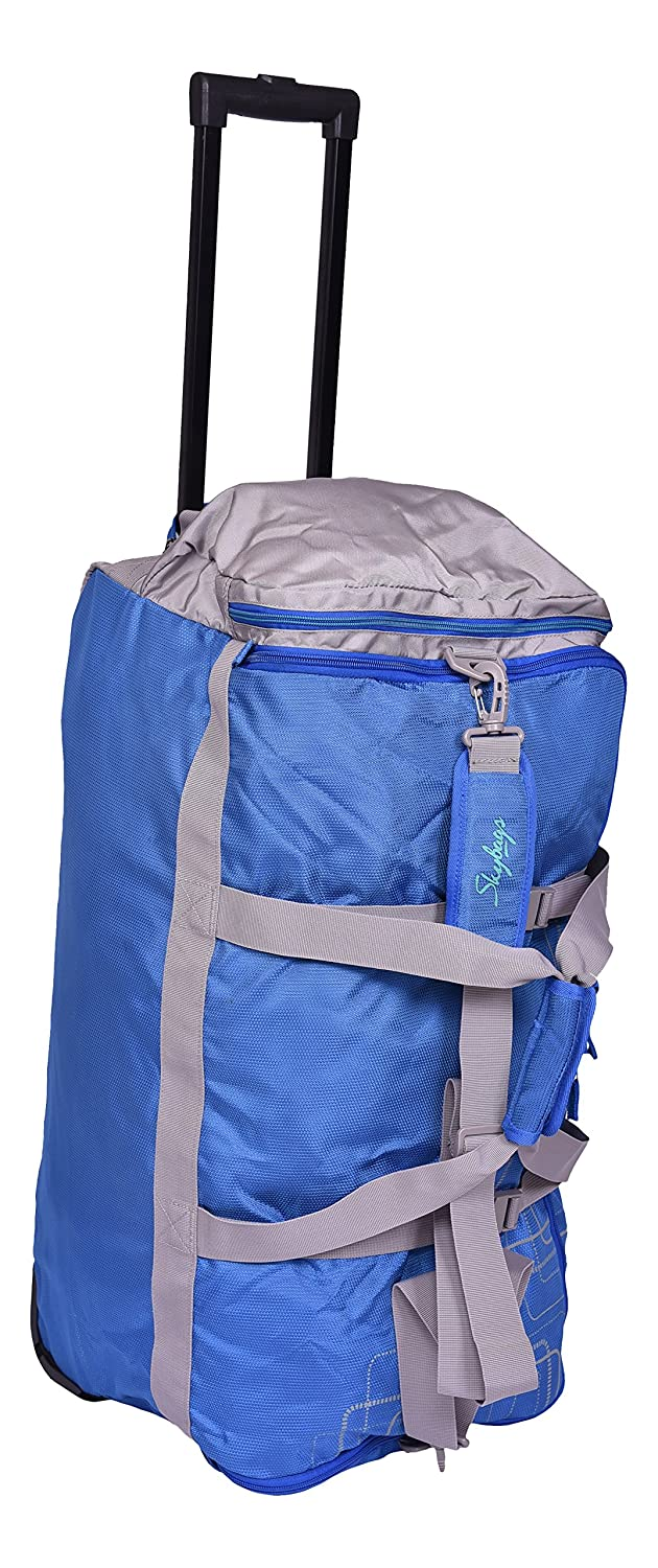 d516ec7aeb5fb7 Skybags AER Polyester 32 cms Blue Duffle Bags (DFTAER68BLU): Amazon.in: Bags,  Wallets & Luggage