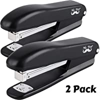 Mr. Pen- Stapler, 2 Staplers with 200 Staples, 20 Sheet Stapler, Desk Stapler, Office Staplers, Staples for Stapler, Office Supplies, Standard Stapler, Stapler with Staples, One Touch Stapler, Staple