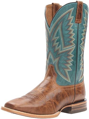 Amazon.com | Ariat Men's Hesston Western Cowboy Boot | Western